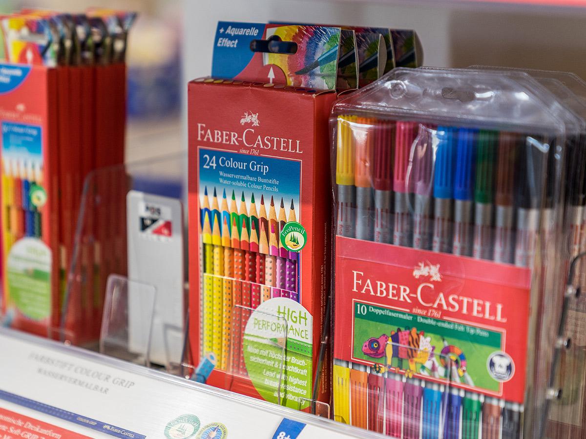 Stifte der Marke Faber-Castell